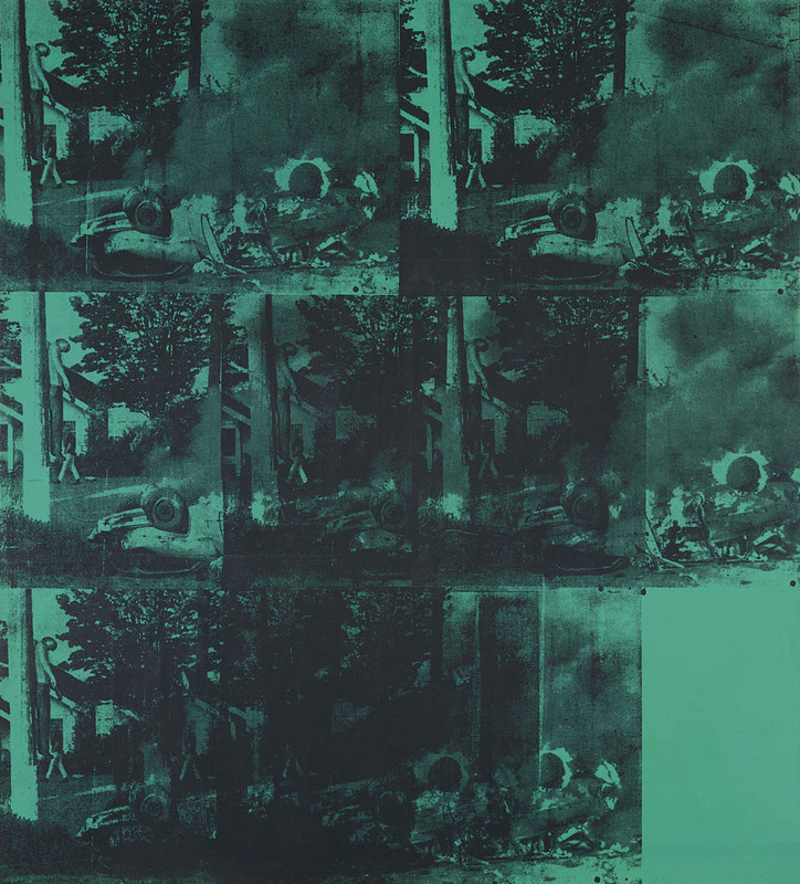Green Car Crash Andy Warhol Green Car Crash
